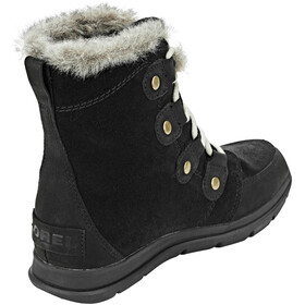 Sorel W's Explorer Joan Boots Black/Dark Stone